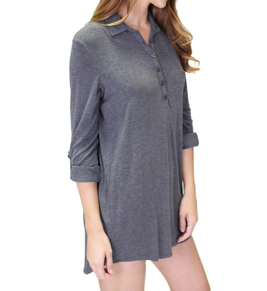 PJ Salvage Rayon Basics Sleepshirt