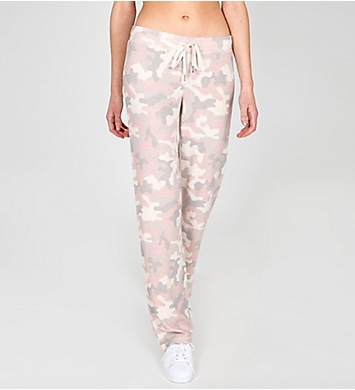 PJ Salvage Love is a Battle Soft Peachy Pant