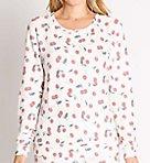 Mon Cheri Cherry Peachy Long Sleeve Top
