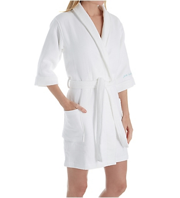 PJ Salvage Spa Day Just Breath Double Face Velour Waffle Robe