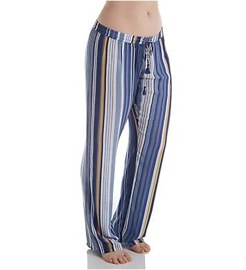 PJ Salvage Beach Blues Stripe Pant