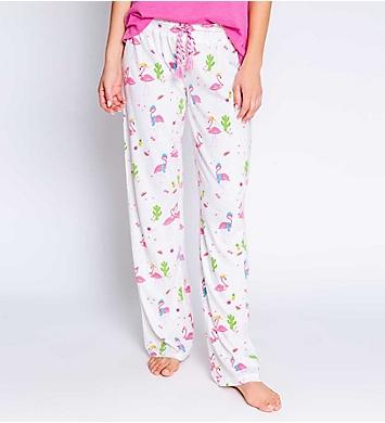 PJ Salvage Playful Prints Flamingo Pant