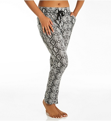 PJ Salvage French Terry Snake Print Pant