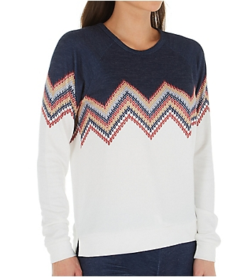 PJ Salvage Peachy Long Sleeve Top
