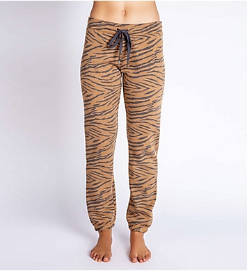 PJ Salvage Fleece Zebra Jogger Pant