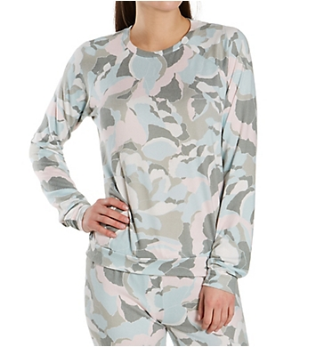 PJ Salvage Camo Bloom Top