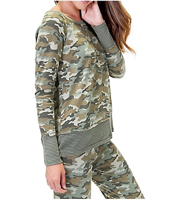 PJ Salvage Mission Bound Camo Long Sleeve Top