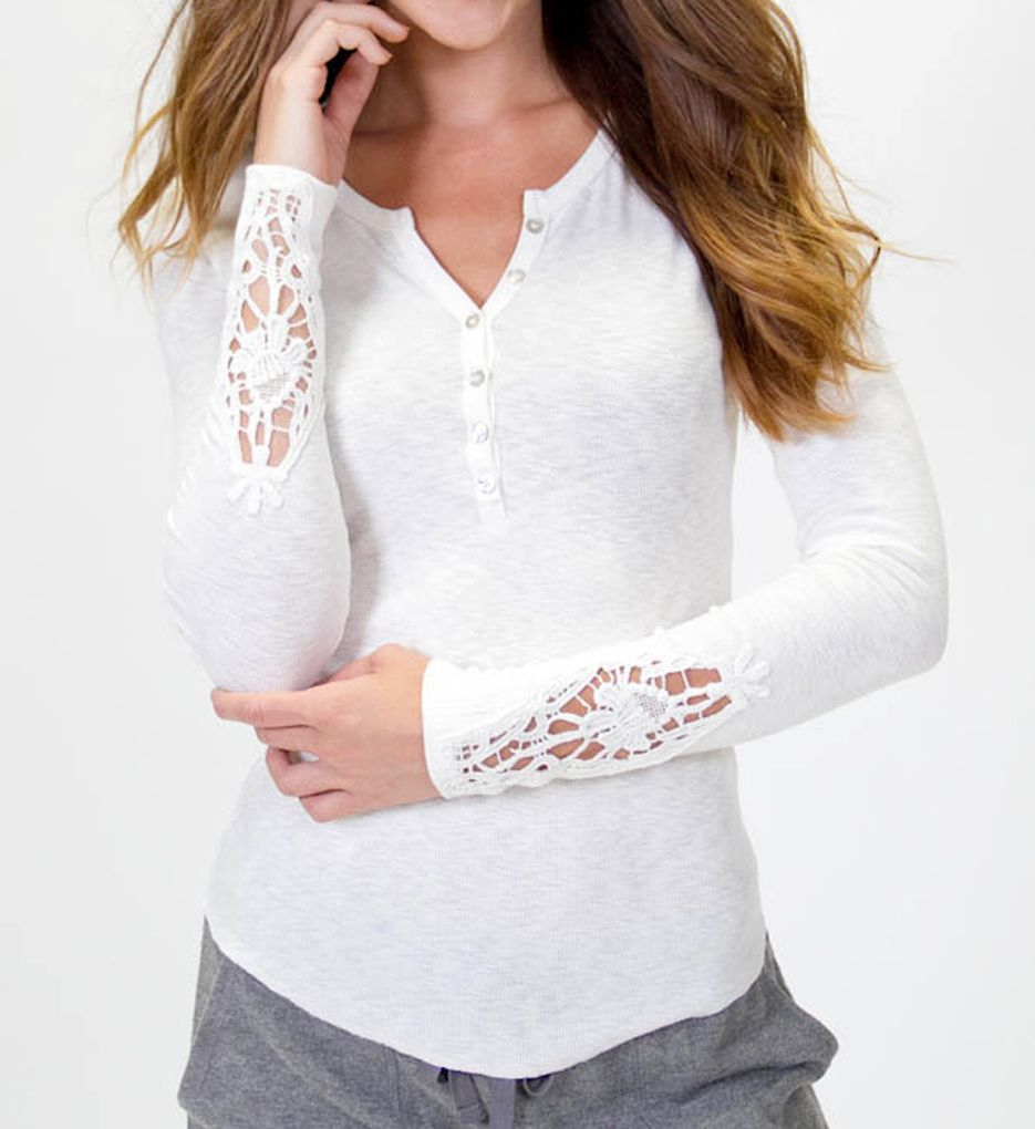 PJ Salvage Rib Essentials Long Sleeve Shirt