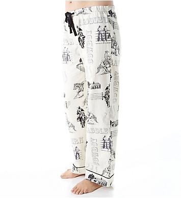 PJ Salvage Fantastic Flannel Western Pant