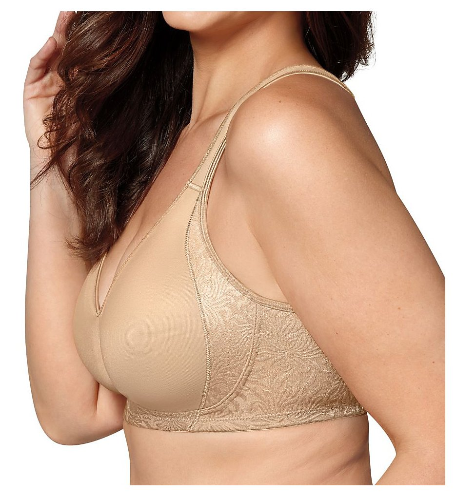Playtex - Playtex 4049 18 Hour Seamless Smoothing Wirefree Bra (Nude 36B)