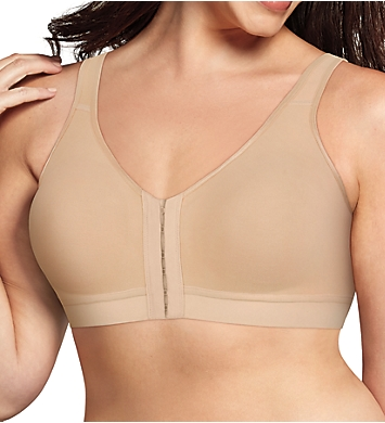 Playtex 18 Hour Cotton Comfort Front and Back Close Bra