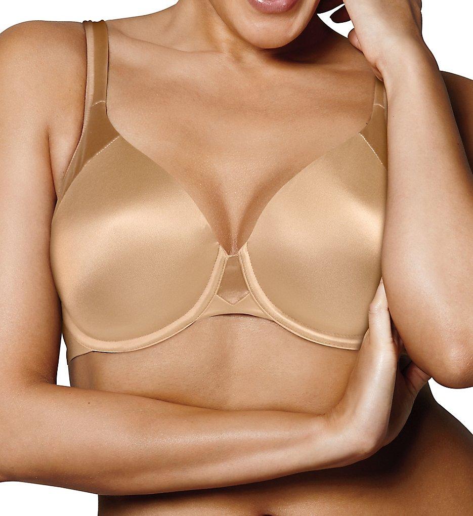 Playtex - Playtex US4848 Love My Curves Modern Curvy Underwire T-Shirt Bra (Nude 40G)