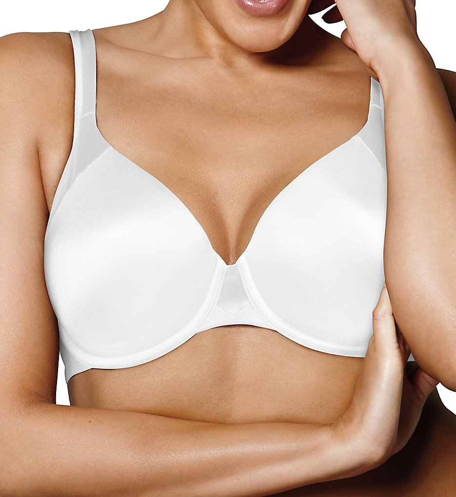 Playtex - Playtex US4848 Love My Curves Modern Curvy Underwire T-Shirt Bra (White 36C)