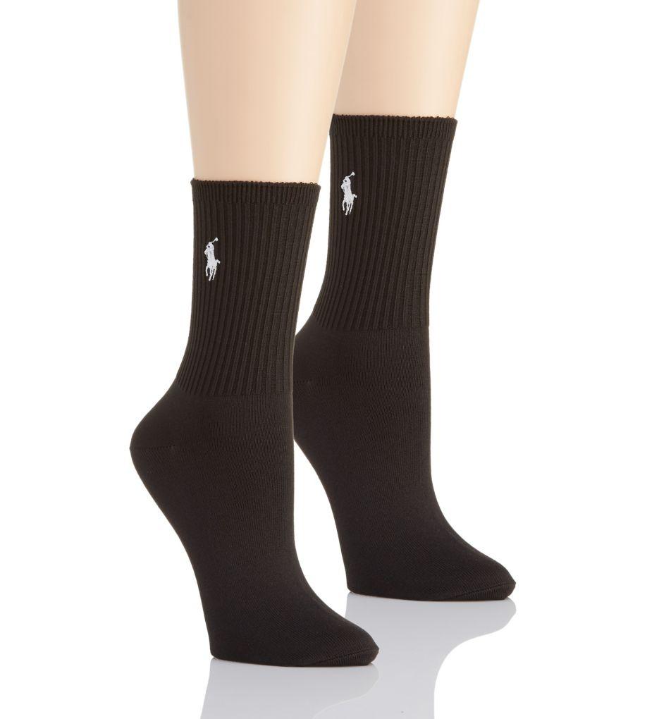 Polo Ralph Lauren Blue Label Super Soft Crew Sock - 2 Pair Pack