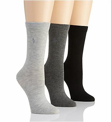 Polo Ralph Lauren Blue Label RL Sport Trouser Sock - 3 Pair Pack
