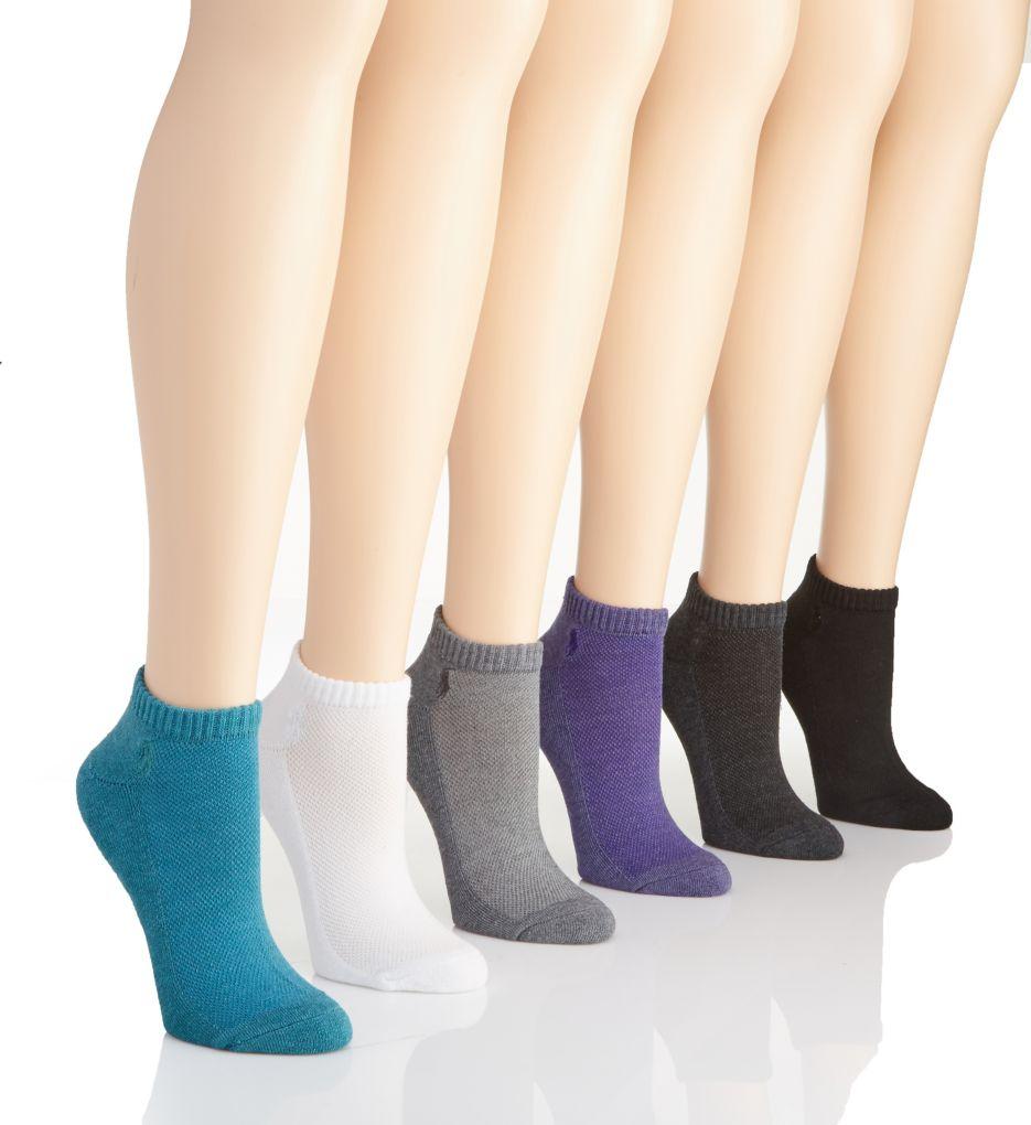Polo Ralph Lauren Blue Label RL Sport Active Sock - 6 Pair Pack