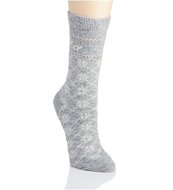 Polo Ralph Lauren Blue Label Polo Logo and Snowflake Boot Sock