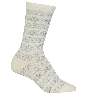 Polo Ralph Lauren Blue Label Polo Snowflake Stripe Boot Sock