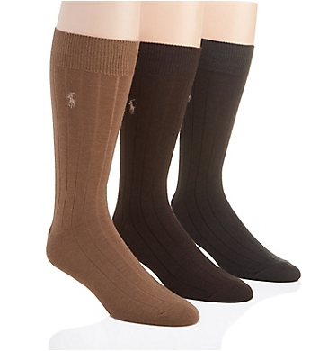 Polo Ralph Lauren Merino Wool Dress Socks - 3 Pack