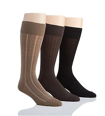 Polo Ralph Lauren Assorted Pattern Socks - 3 Pack
