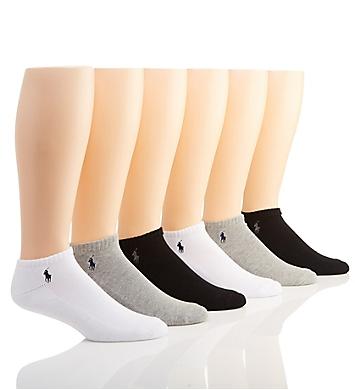 Polo Ralph Lauren Cushioned Low Cut Socks - 6 Pack