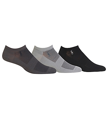 Polo Ralph Lauren Low Cut Sock With Arch Support - 3 Pack