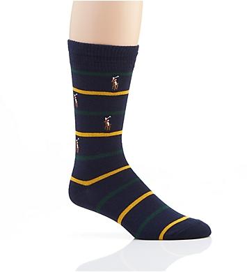Polo Ralph Lauren Pony Embroidery Stripe Sock