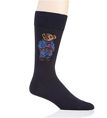 Polo Ralph Lauren Denim Polo Bear Fashion Sock