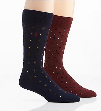 Polo Ralph Lauren Foulard Paisley Socks - 2 Pack