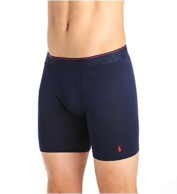 Polo Ralph Lauren Supreme Comfort Long Leg Boxer Brief - 2 Pack
