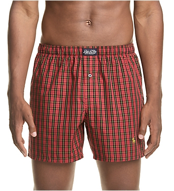 Polo Ralph Lauren 100% Cotton Classic Plaid Woven Boxer