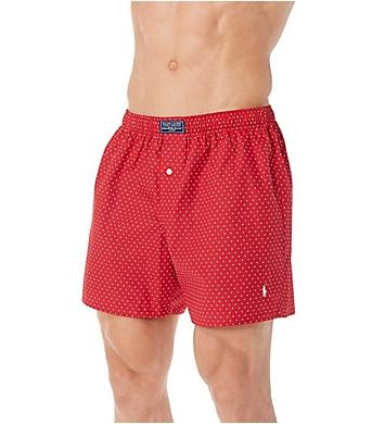 Polo Ralph Lauren 100% Cotton Polka Dot Print Woven Boxer