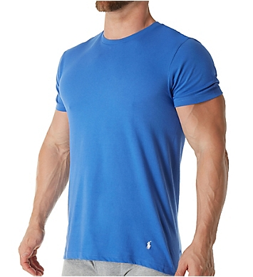 Polo Ralph Lauren Classic Fit 100% Cotton Crew T-Shirts - 3 Pack