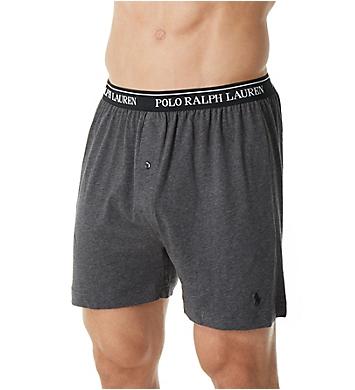 Polo Ralph Lauren Classic Fit 100% Cotton Knit Boxers - 5 Pack