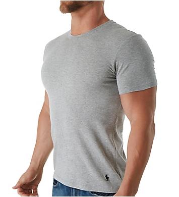 Polo Ralph Lauren Stretch Cotton Jersey Crew Neck T-Shirts - 2 Pack