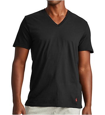 Polo Ralph Lauren Big Man Classic Fit Cotton V-Neck Shirts - 3 Pack
