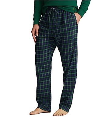 Polo Ralph Lauren Flannel 100% Cotton Plaid Pajama Pant