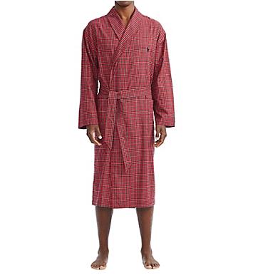 Polo Ralph Lauren Yarn-Dyed Cotton Flannel Robe