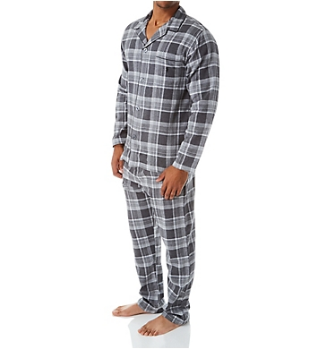 Polo Ralph Lauren Flannel Button Down Pajama Set