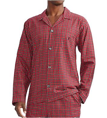 Polo Ralph Lauren Flannel Long Sleeve Pajama Top