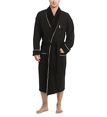 Polo Ralph Lauren Shawl Collar Plush Interior Robe
