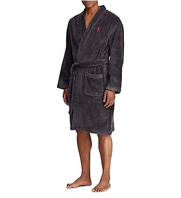 Polo Ralph Lauren Terry Velour Kimono Pony Player Robe