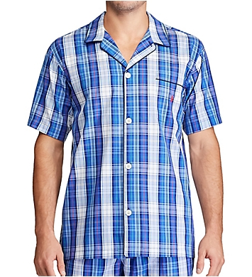 Polo Ralph Lauren 100% Cotton Fashion Woven Pajama Top