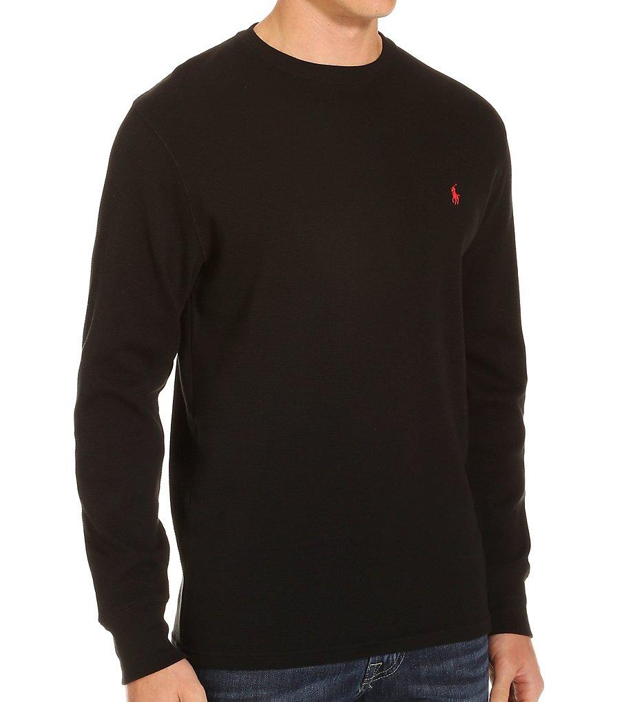 Polo Ralph Lauren Waffle-Knit Long Sleeve Crew Shirt P551 - Polo Ralph  Lauren Sleepwear