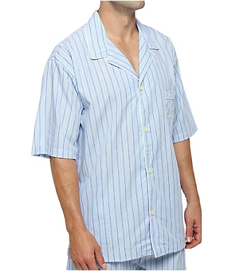 Polo Ralph Lauren 100% Cotton Woven Short Sleeve Sleepwear Top