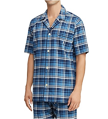 Polo Ralph Lauren Short Sleeve Stretch Woven PJ Top