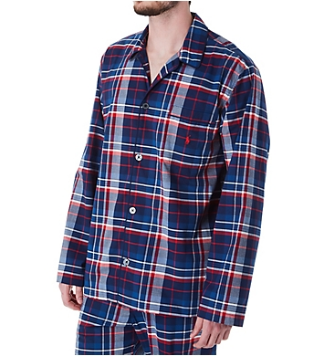 Polo Ralph Lauren Stretch Woven Pajama Top