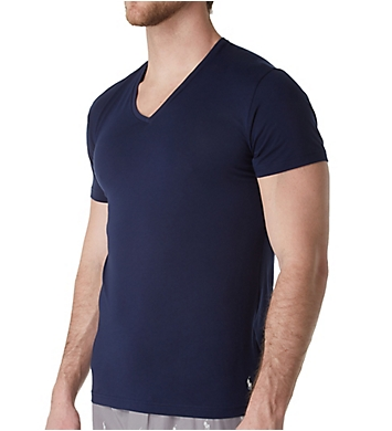 Polo Ralph Lauren Cotton Modal Slim Fit Wide V-Neck T-Shirt