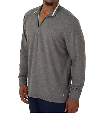 Polo Ralph Lauren Knit Sleepwear 1/4 Zip