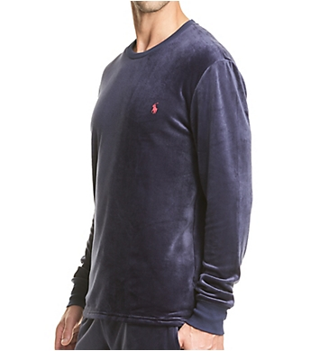 Polo Ralph Lauren Plush Velour Long Sleeve Crew